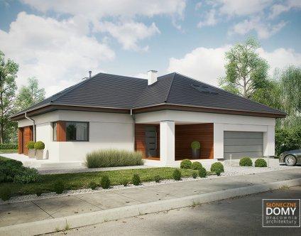 Projekty Domów Z Poddaszem Użytkowym Słoneczne Domy