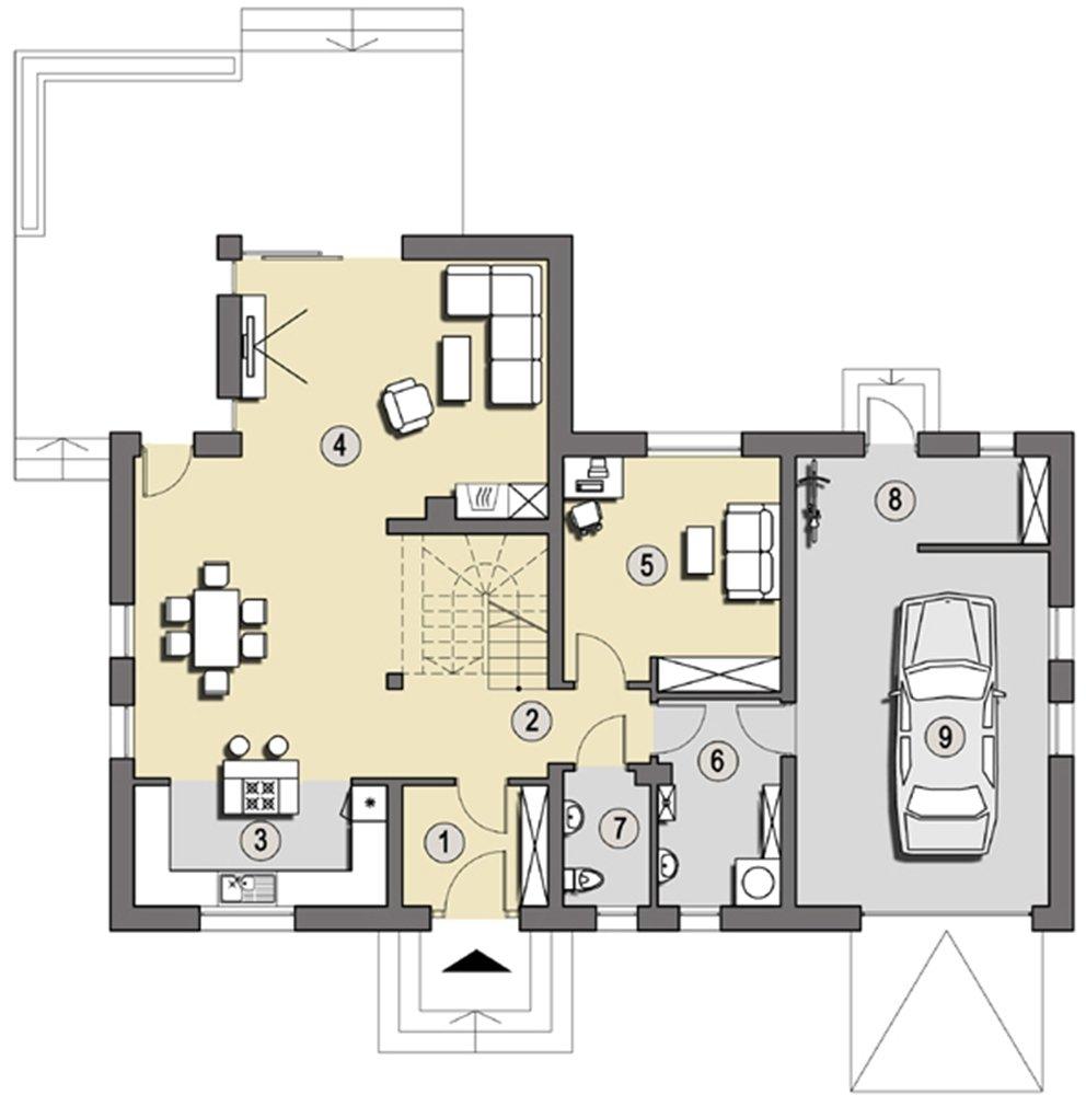Projekt Budva Słoneczne Domy